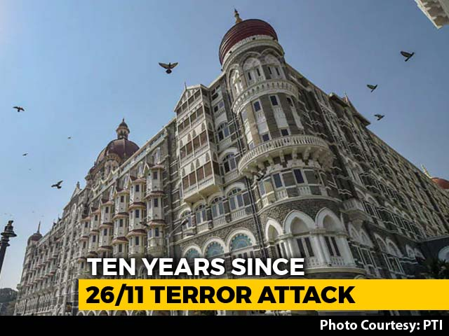 Video : India Marks Tenth Anniversary Of 26/11 Mumbai Terror Attack