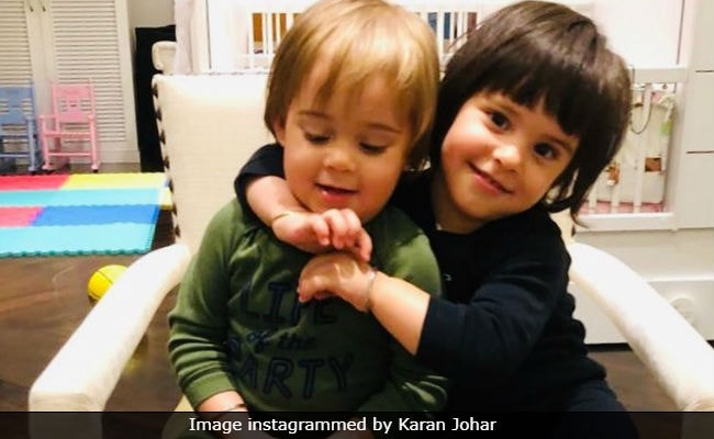 Children's Day 2018: Karan Johar And Genelia D'Souza Are Competing For Best Posts Of Their Kids