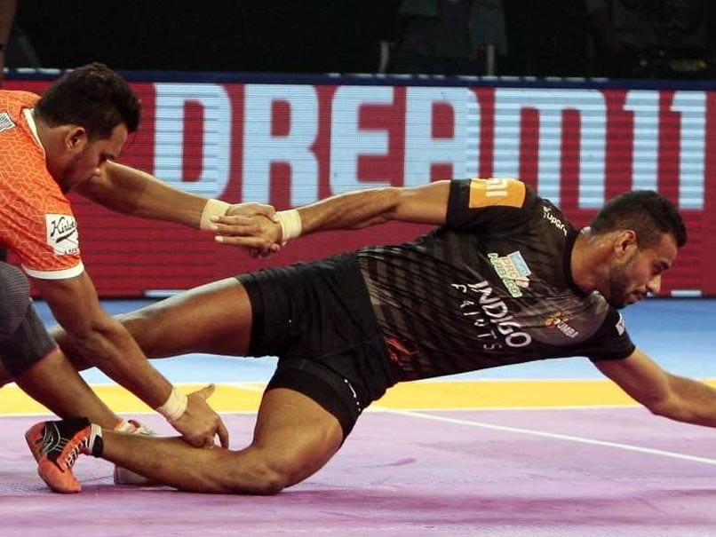 Pro Kabaddi League: U Mumba Beat Puneri Paltan 31-22 In Maharashtra Derby