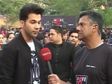 Video : I Would Love To Donate My Eyes: Rajkummar Rao At Walkathon In Gurugram