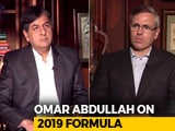 "Video: ""Governor Can't Decide What's Holy And Unholy"": Omar Abdullah To NDTV"