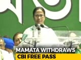 Video : After Chandrababu Naidu, Now Mamata Banerjee Withdraws Free Pass To CBI