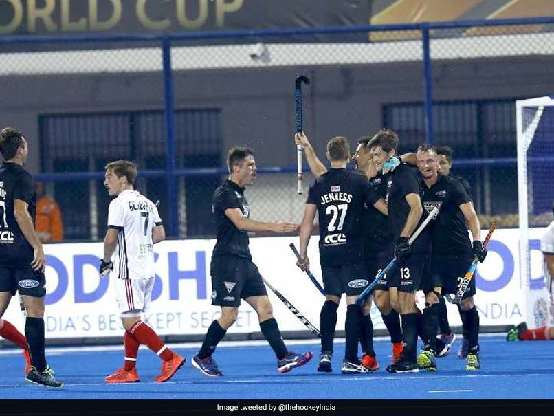 New Zealand beat France in Hockey World Cup