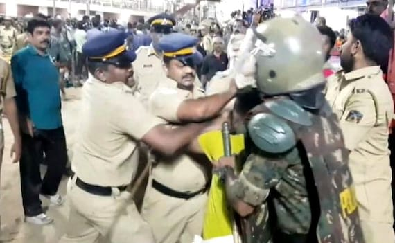 Late-Night Clashes At Sabarimala, BJP Protests At Chief Minister's Home