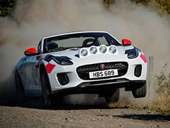 F-Type Rally Cars Celebrate 70 Years Of Jaguar Sports Cars