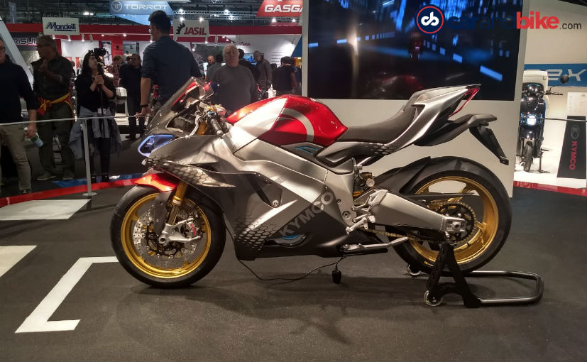 15c1cd530e4 (The concept gets Kymco 'Full Engagement Performance' package that  customises the bike to suit the rider)