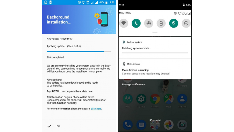 Moto X4 Android Pie Soak Test Starts Rolling Out for Select Users in