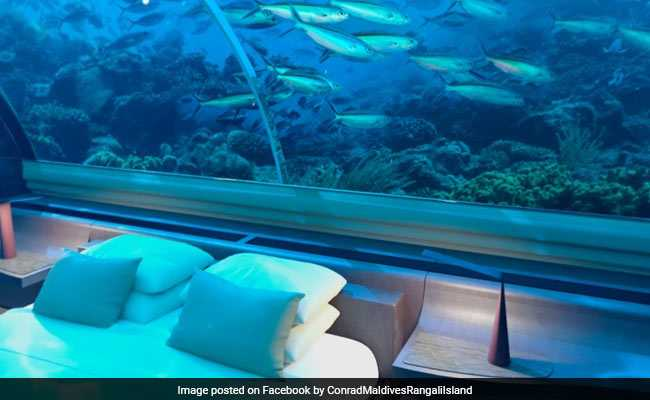 World's First Underwater Villa In Maldives, For $50,000 A Night