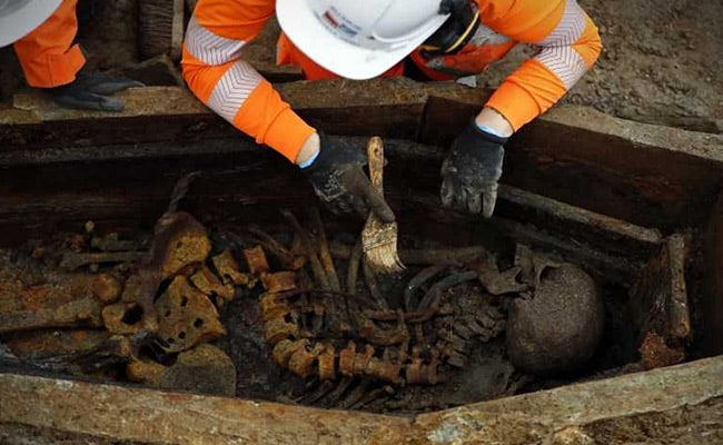 Skeletons Dug Out In UK Train Line Excavation. It Was An Old Burial Site
