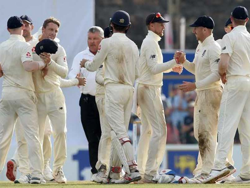 England Beat Sri Lanka To Claim First Away Test Victory In 13 Matches