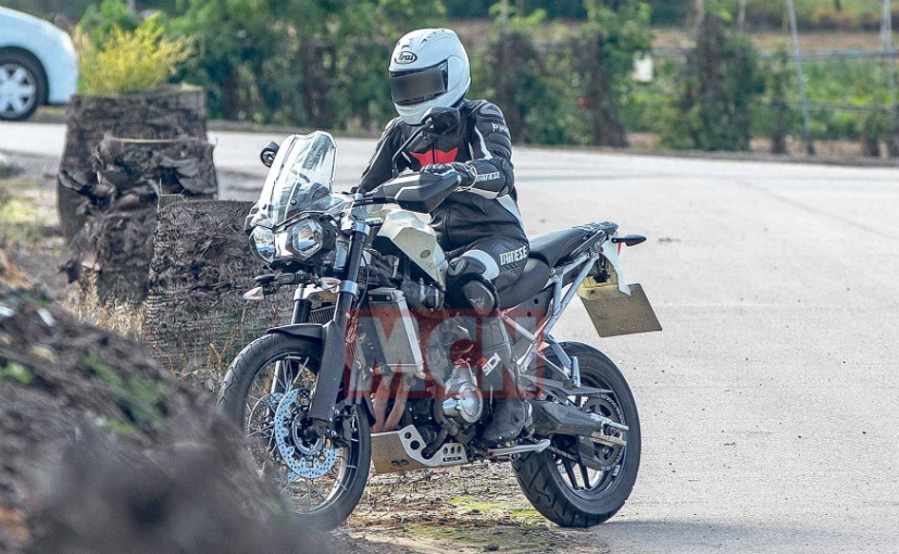 A spy shot of an updated Triumph Tiger 800 has emerged with the bike getting lots of updates