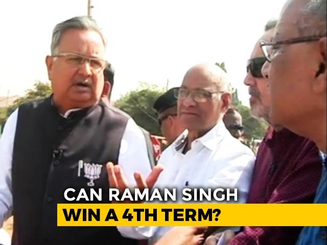 "Video : ""Shouting Won't Win Polls,"" Says Raman Singh, BJP's Chhattisgarh ""Star"""