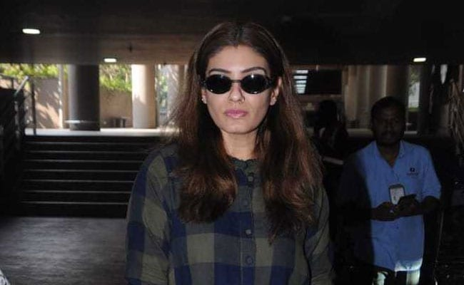 Raveena Tandon Wore A Checked Shirt Dress, We Made It A Winter Look. Here's How