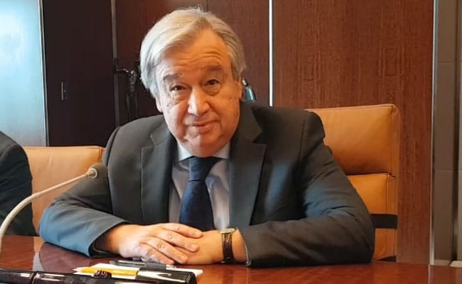 UN Chief 'Deeply Concerned At Increase In Tensions' Between India, Pak