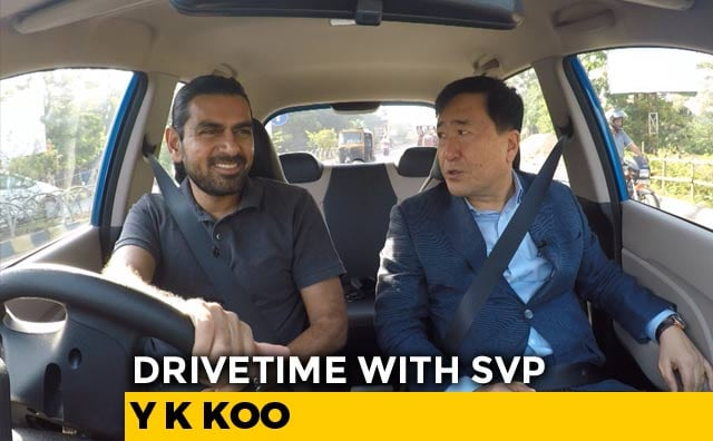 Video : Drivetime With SVP: New Santro And Hyundai MD
