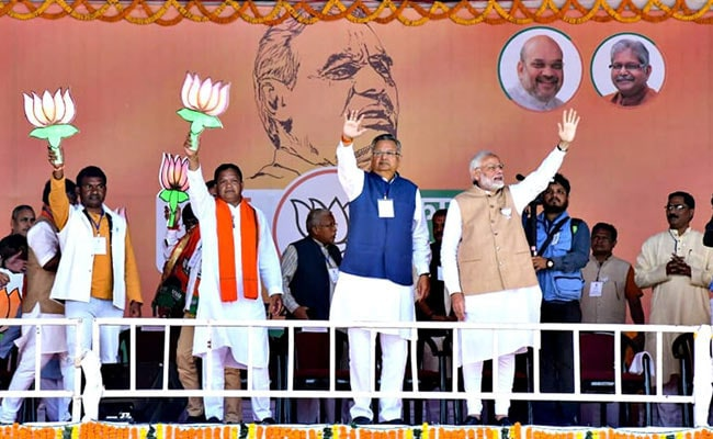 As Chief Minister Raman Singh Leads, 5 Ministers Trail In Chhattisgarh