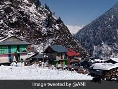 Fresh Snowfall In Parts Of Himachal Pradesh Intensifies Cold Wave