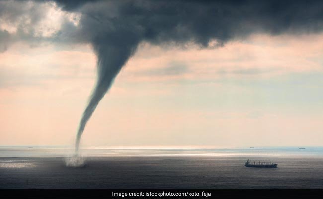 Huge Waterspout Hits Italy, Pics Go Viral On Social Media
