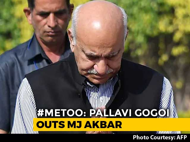 "Video : ""It Was Consensual"": MJ Akbar After US-Based Journalist Alleges Rape"