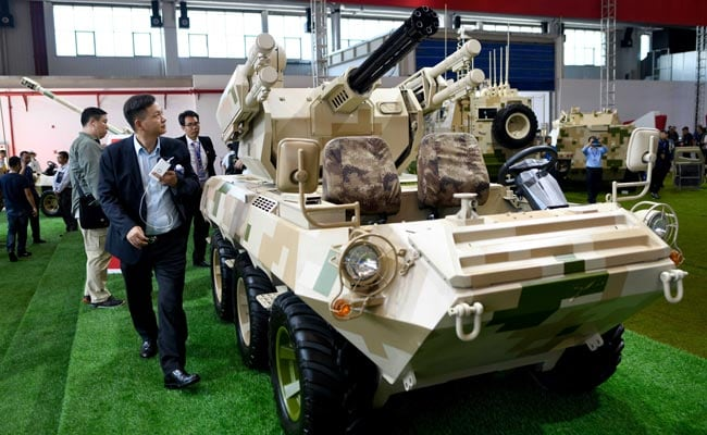 China Displays New Tactical Modern Weapons At Its Air Show