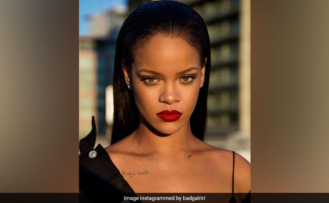 Rihanna Disses Donald Trump For Playing Her Music At 'Tragic Rallies'