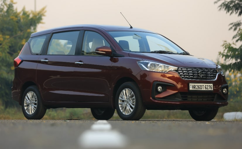 Maruti Suzuki says the Ertiga has been the segment leader for the past two years