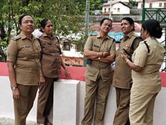 """We Have A Job To Do,"" Say Women Cops, Above 50, Posted At Sabarimala"