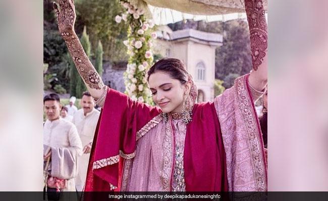 दीपिका पादुकोण और रणवीर सिंह की शादी की Photo ने मचाया धमाला, 'मस्तानी' बन यूं नाचीं दुल्हन