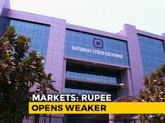 Video: Sensex Down Over 100 Points, Nifty Below 10,550