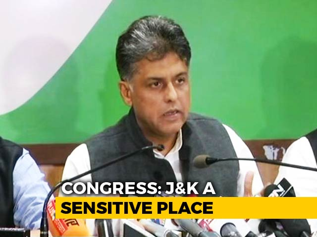 Video : Congress Questions J&K Governor's Decision To Dissolve Assembly