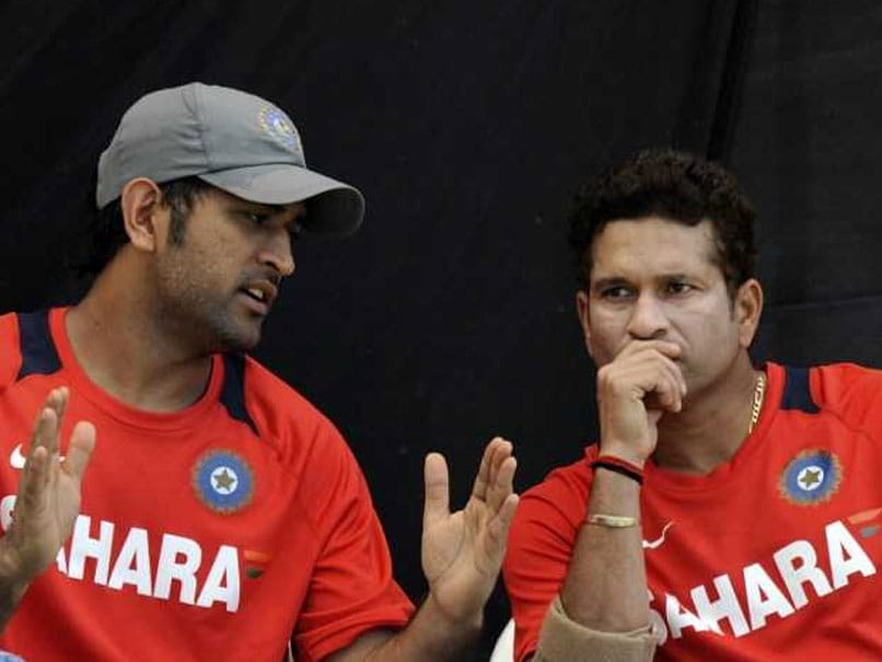 Sachin Tendulkar Weighs In On MS Dhoni