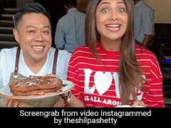 Video: Shilpa Shetty Kundra's Latest Sunday Binge Took Her To 'Chocolate Heaven'