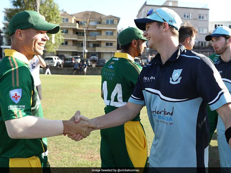 Steve Smith, David Warner Play Together For First Time Since Ball-Tampering Scandal