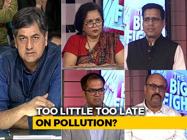 Video : The Big Fight: Is Pollution Making Delhi Unliveable?