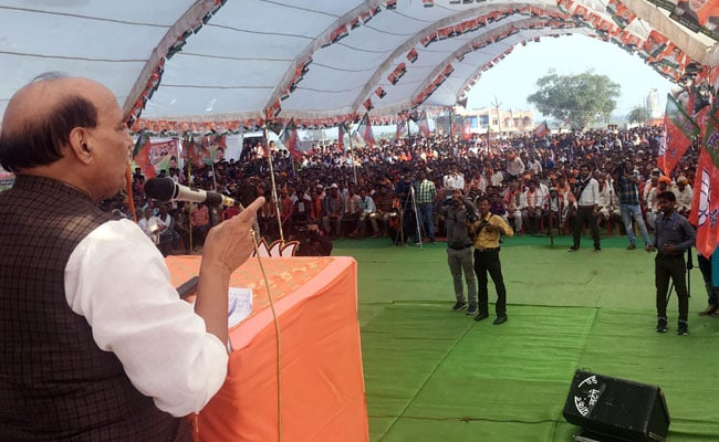 'Don't Win By Visiting Temples': Rajnath Singh's Dig At Rahul Gandhi