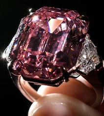 'Most Beautiful' Pink Diamond Could Set New Record For Stone Of Its Kind