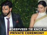 Video : Just Married, Deepika And Ranveer. 'Badhai Ho,' Tweets Bollywood