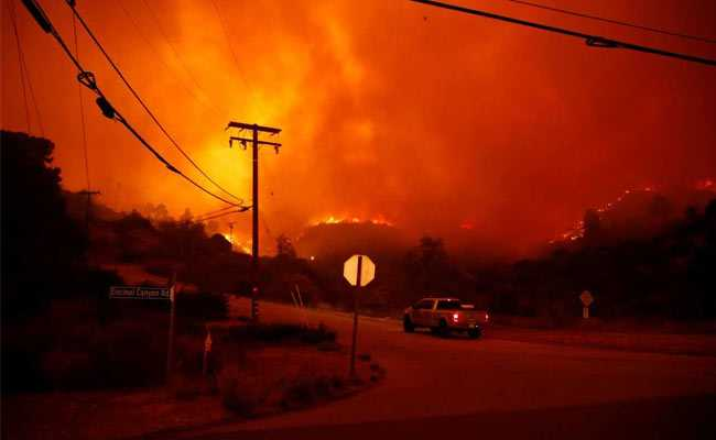 'Sky Turned Black': 11 Killed In California Wildfire, Thousands At Risk