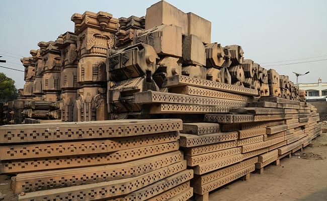 Awaiting Court Verdict On Ayodhya, 50% Carvings Of 'Grand Temple' Ready