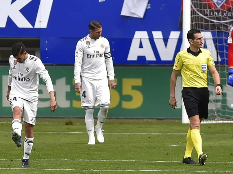La Liga: Santiago Solari, Sergio Ramos Feel Heat As Real Madrid Crash At Eibar