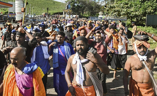 Children Used As 'Shields' During Sabarimala Protests: Kerala Minister