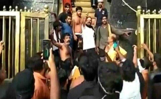 Police Watched, Sangh Parivar Took Over Sabarimala, Alleges Congress