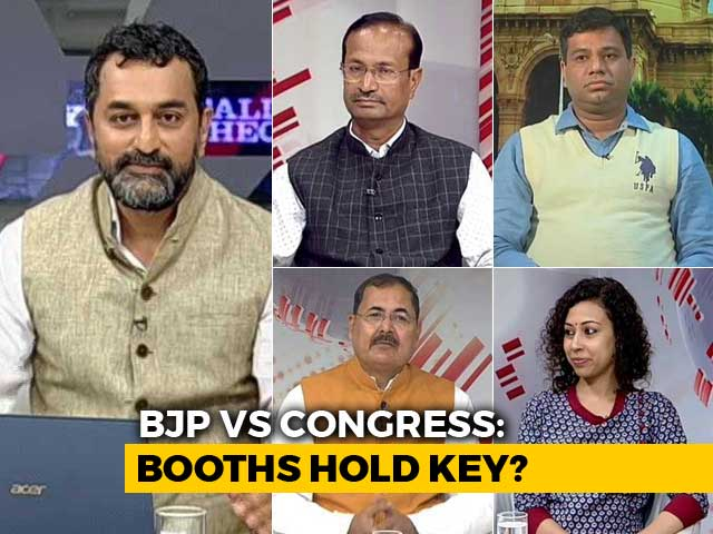 Video : Can Congress Beat BJP In The Madhya Pradesh Booth Battle?