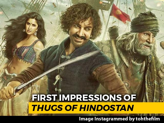 Video : First Impressions Of <i>Thugs Of Hindostan</i>