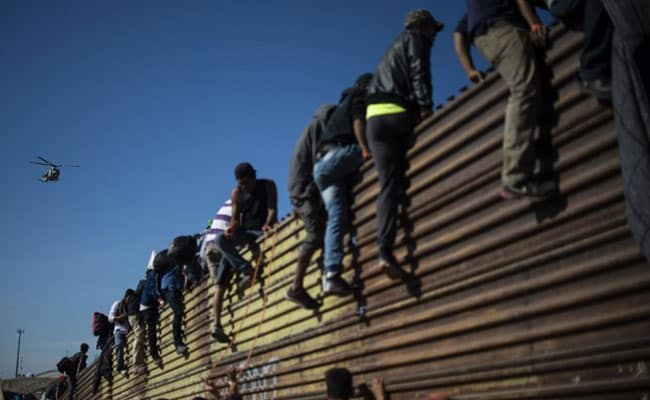 Mexican Interior Minister Alfonso Navarrete accused some of the migrants of attempting the Tijuana crossing in a