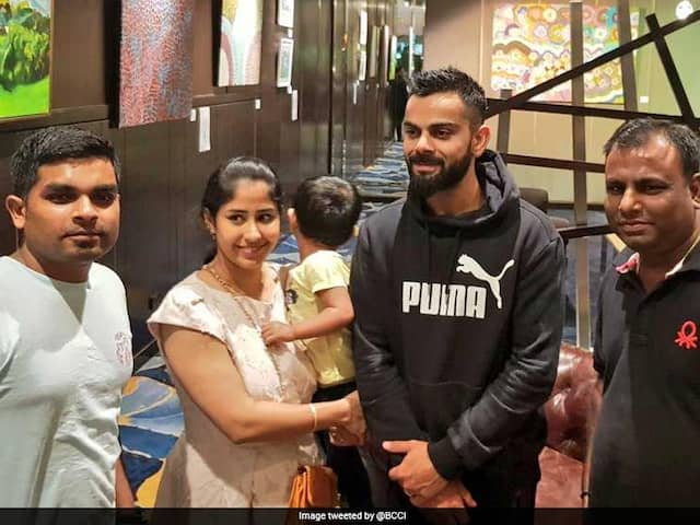 India vs Australia: Virat Kohli Always has time for his fans, BCCI tweet with a picture