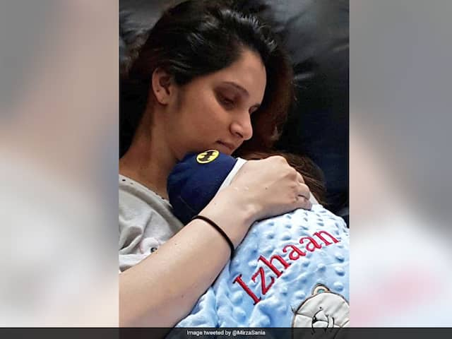 Sania Mirza Shares An Adorable Moment With Son Izhaan - See Picture