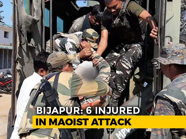 Video : 5 Security Men, Driver Injured In Chhattisgarh Blast Set Off By Maoists
