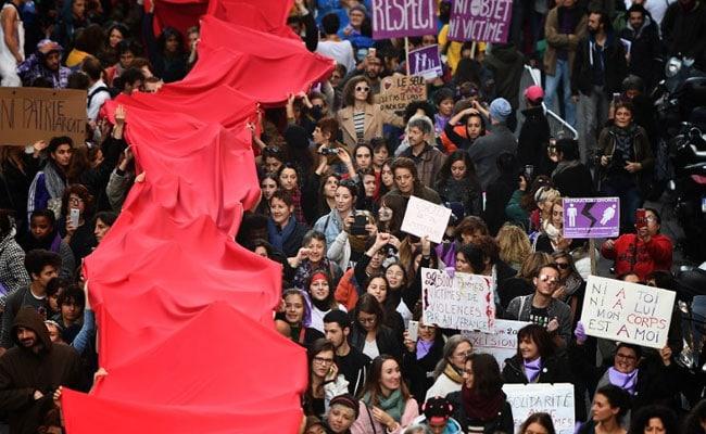 'Feminist Tidal Wave': Protests Across Europe Against Gender Violence