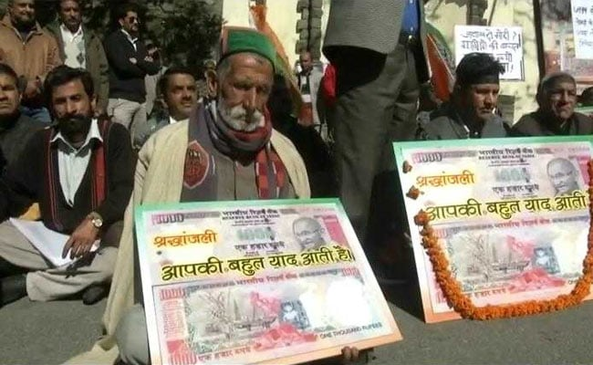 In Nationwide Protest Against Demonetisation, Congress Observes Black Day